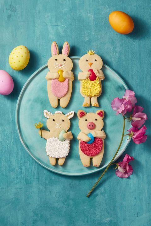 cadbury egg recipes  easter vanilla sugar cookies