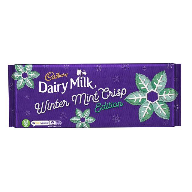 cadbury jinggly balls mint crisp christmas