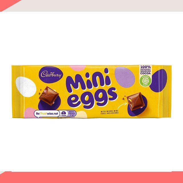 cadbury mini eggs bar
