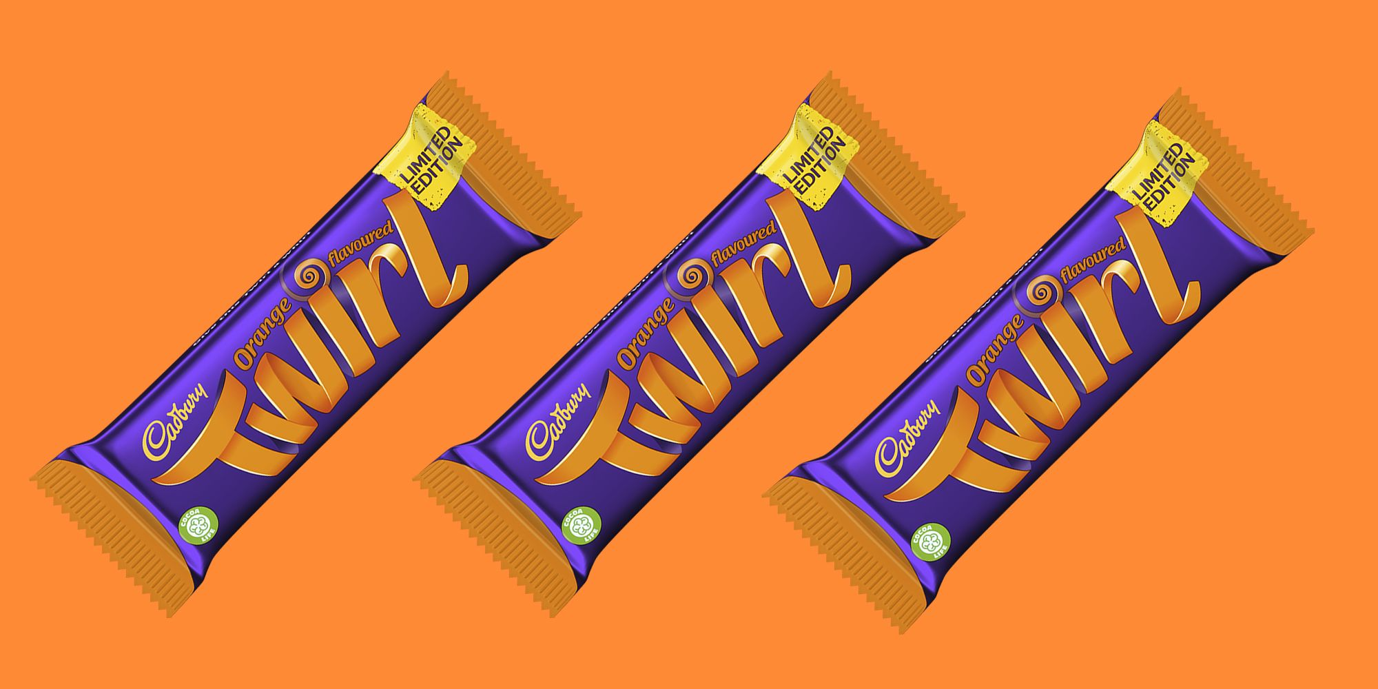 Cadbury Fans Are Convinced The Orange Twirl Doesn't Even Exist!