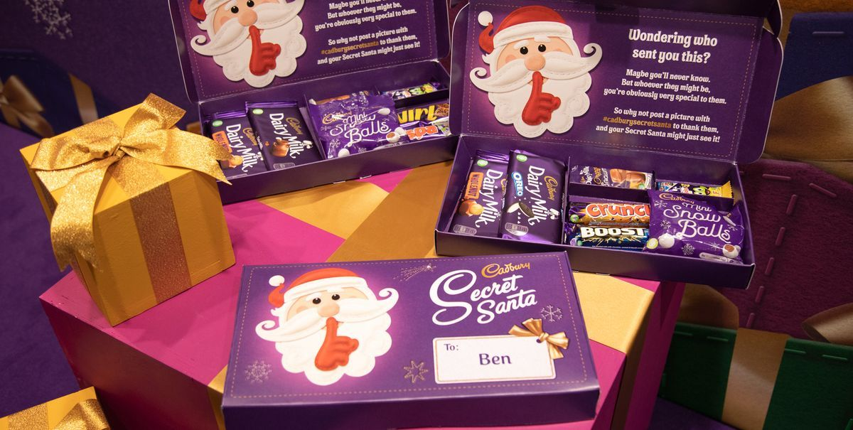 Cadbury Personalised Selection Boxes With Your Name On Are Here!
