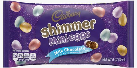 Cadbury Just Introduced Shimmer Mini Eggs Filled With Milk Chocolate