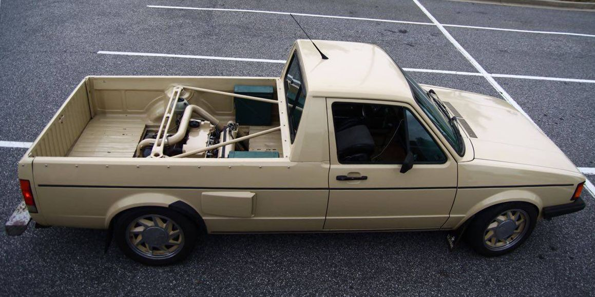 A Mid-Engine VW Caddy With a Turbo VR6 Is a Truck Full of Rad