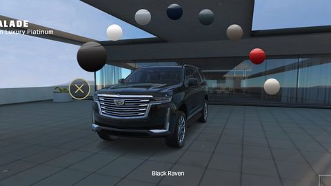2021 Cadillac Escalade visualizer