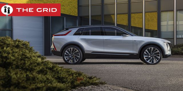 cadillac lyriq pairs next generation battery technology with a bold design statement which introduces a new face, proportion and presence for the brand's new generation of evsimages display show car, not for sale some features shown may not be available on actual production model