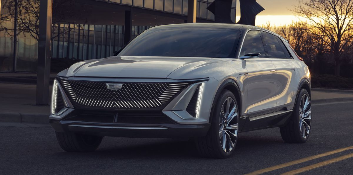 Cadillac's First Electric Car Is a High-Riding Station Wagon With 300 Miles of Range