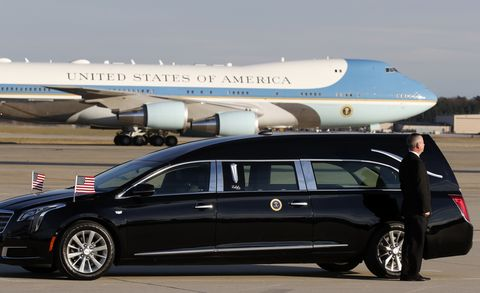 President George H W Bush Funeral Procession Features