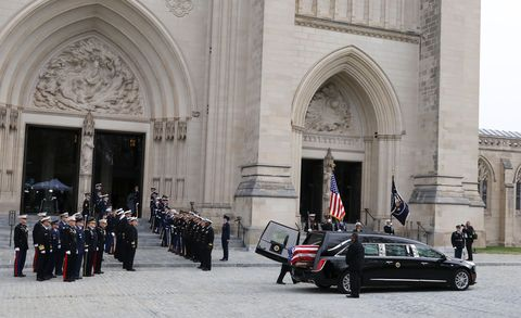 President George H W  Bush Funeral – Procession Features