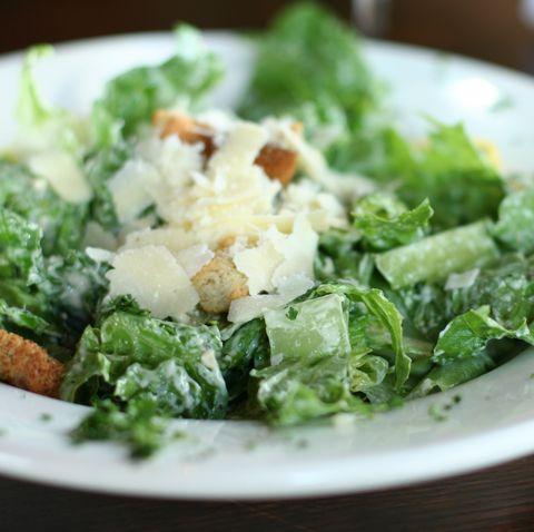caesar salad with parmesan cheese