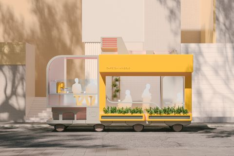 Ikeas space 10 proposes new designs for self driving cars with