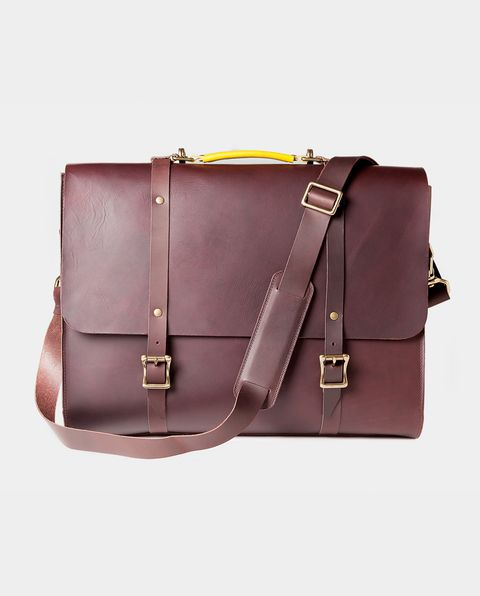 Bag, Leather, Handbag, Product, Brown, Purple, Fashion accessory, Briefcase, Shoulder bag, Satchel,