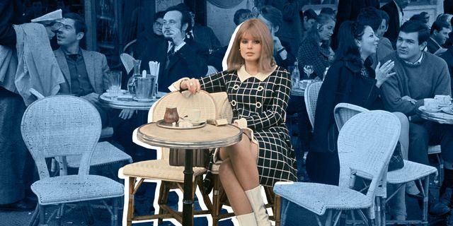 1960s paris cafe