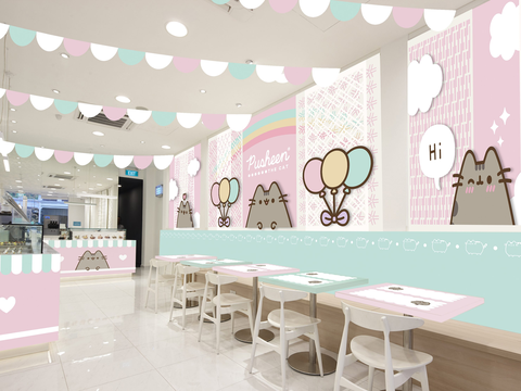 Cafetería Pusheen Singapur