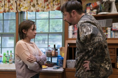 still of erin mcmenamin and kenny mcmenamin in hbo's mare of easttown