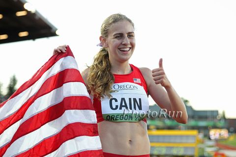 Mary Cain Wins World Junior 3000-Meter Title