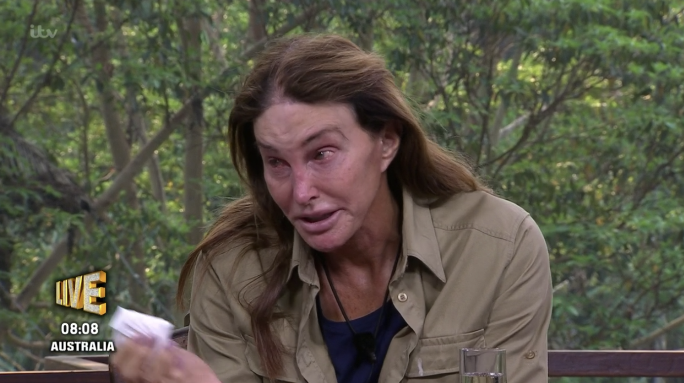 I'm a Celebrity fans are sad about this part of Caitlyn Jenner's exit