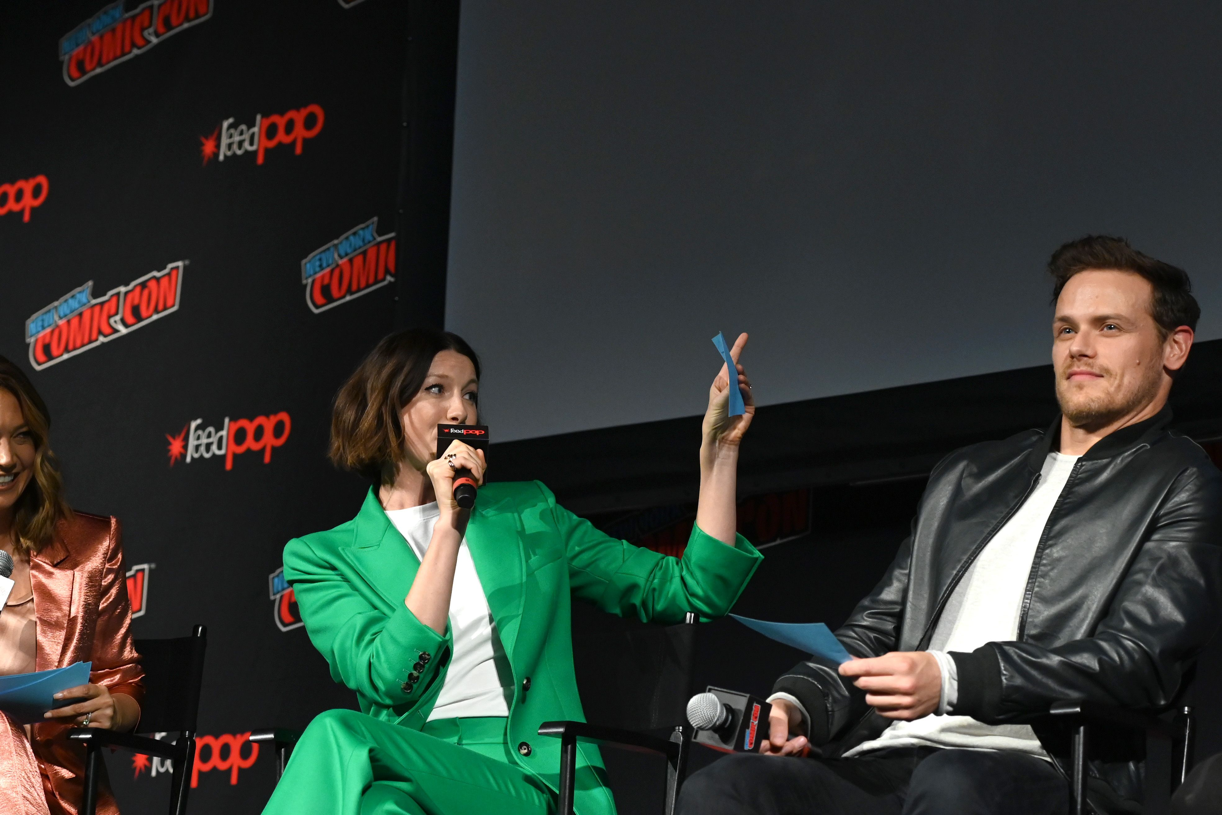 Outlander's New York Comic Con Panel: The Five Best Moments