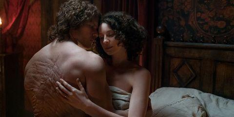 Caitriona Balfe outlander escenas sexo