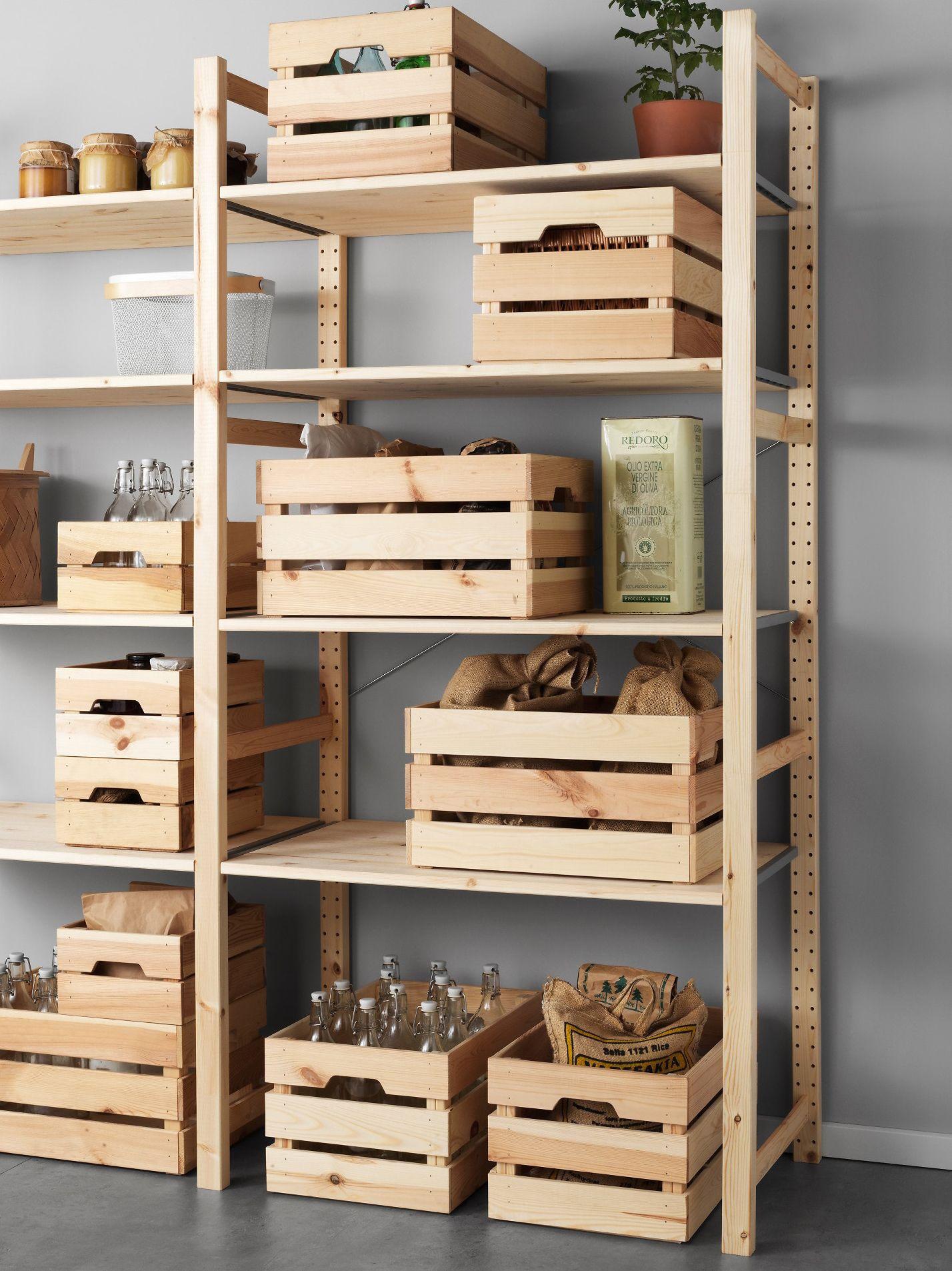 Cajas de pino