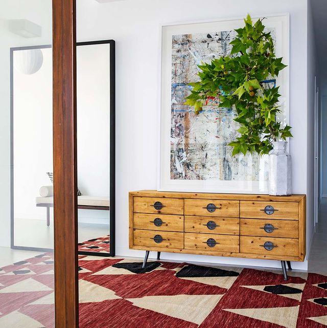 los recibidores son un plus de decoración al hogar
