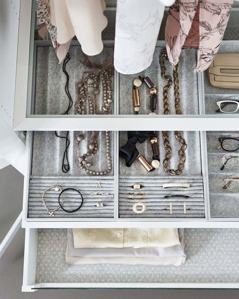 cajones para armarios para accesorios