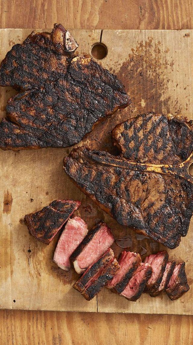 cajun t bone steaks