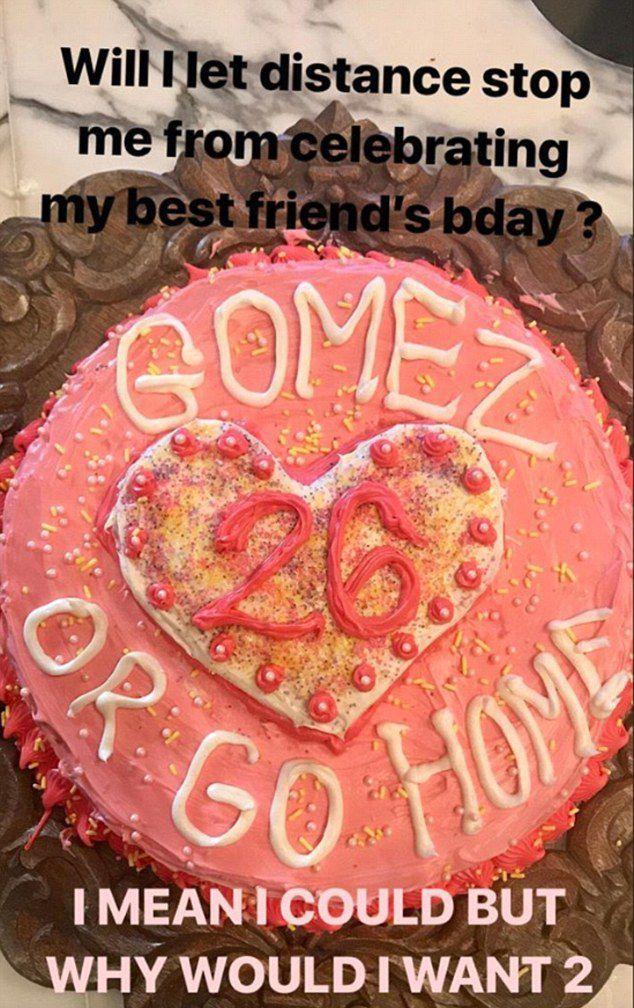 That cake, tho.