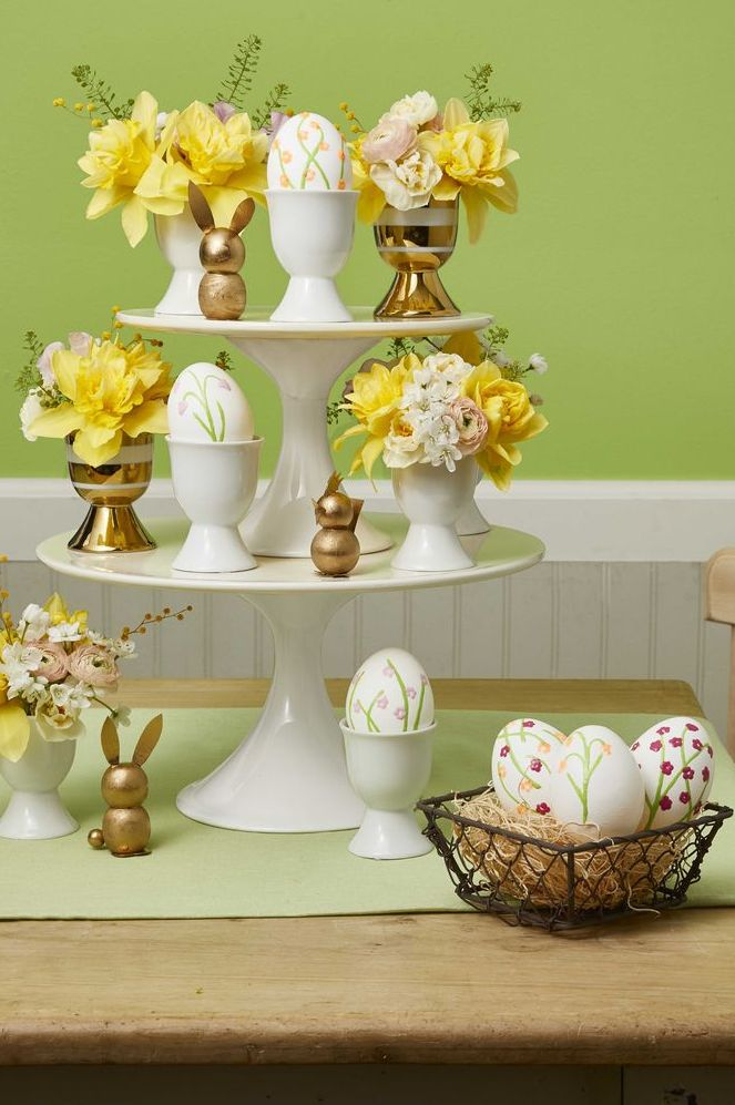 Easter crafts for adults - Cake Stand