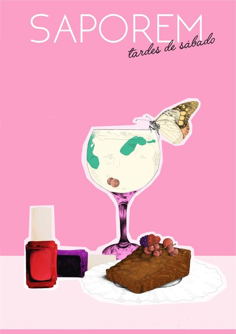 Drink, Poster, Food, Milkshake, Illustration,