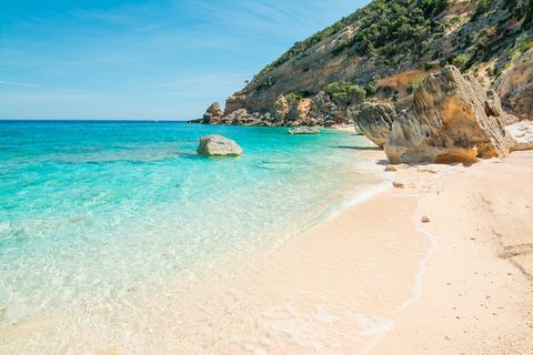 Cala Mariolu, Sardinia, Italy - best beaches europe