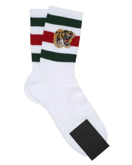 Calcetines hombre Gucci, Gucci, calcetines tigre