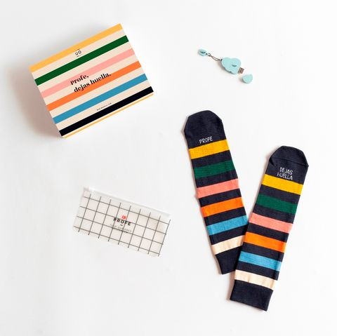 calcetines de regalo para profesores