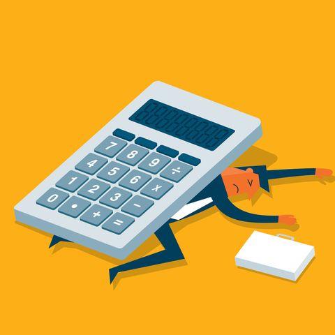 Calculator - businessman