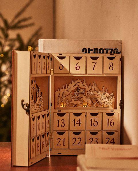 calendario adviento zara home