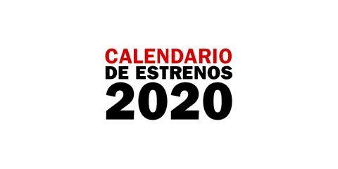 calendario estrenos series 2020
