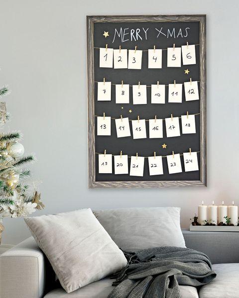 manualidades navideñas calendario de adviento