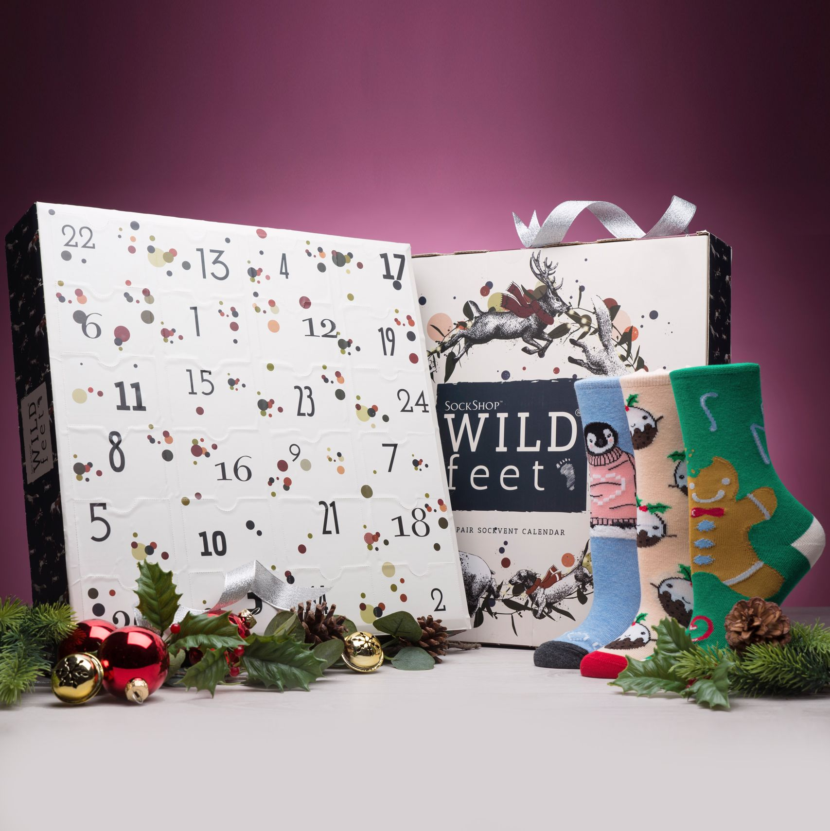 SockShop Wild Feet Christmas Advent Calendar