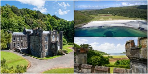 10 Bedroom Calgary Castle On The Isle Of Mull For Sale Scottish Castles For Sale
