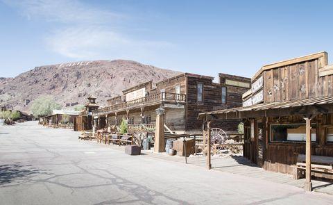 ghost town   calico, california