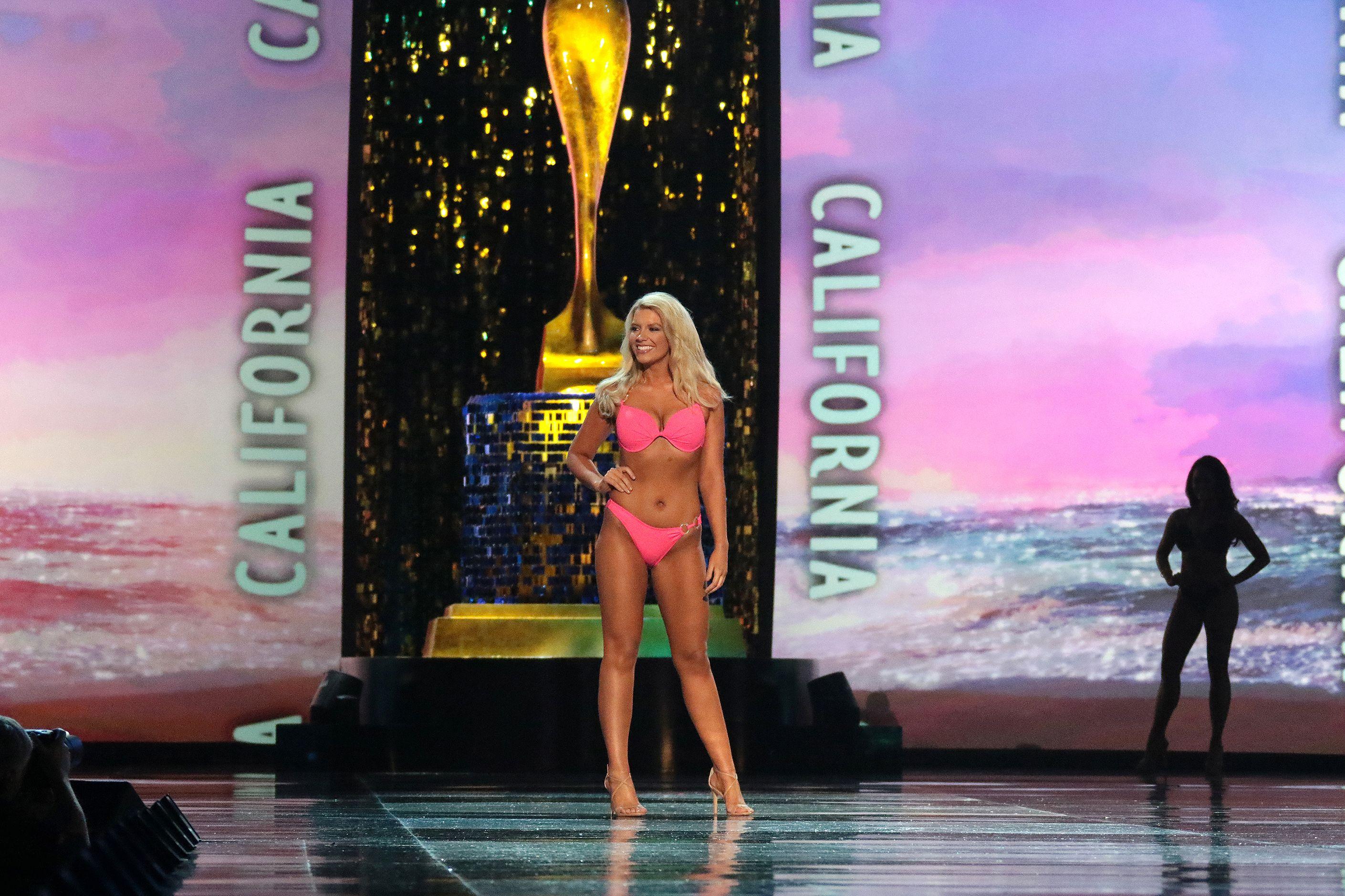 Miss california in bikini
