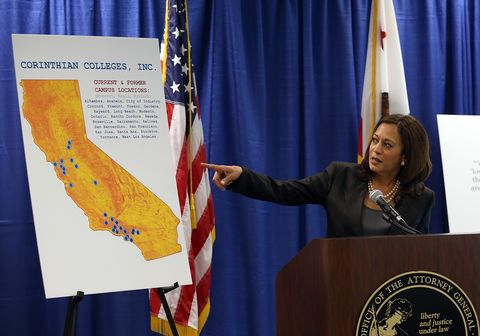 california attorney general kamala harris announces lawsuit