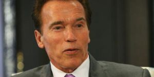 California governor Arnold Schwarzenegge
