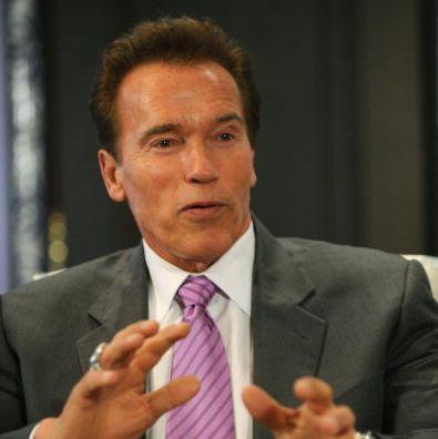 California governor Arnold Schwarzenegge