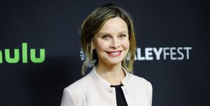 """Calista Flockhart Paley Center For Media's 33rd Annual PaleyFest Los Angeles - """"Supergirl"""" - Arrivals"""