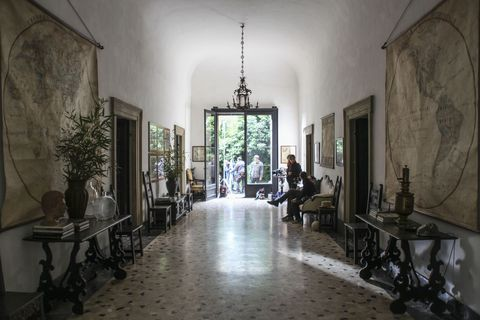 Call Me By Your Name Movie Set 17th Century Italian Villa
