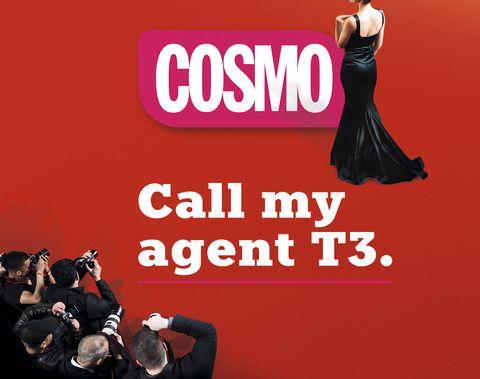 Cartel promocional de la T3 de'Call my Agent'