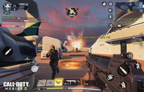 call of duty mobile iphone ios android gameshooter