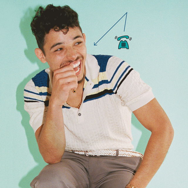anthony ramos for cosmopolitan in the heights