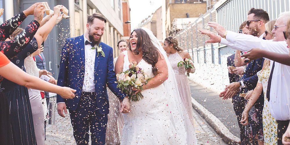 Callie Thorpe plus size wedding dress