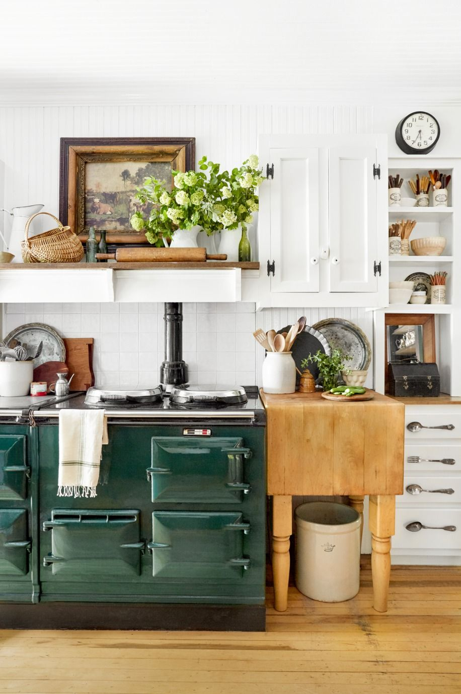 calm country kitchen ideas